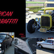 Cars From American Graffiti Poster