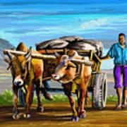 Cart Man Poster