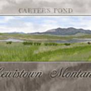 Carter's Pond Poster