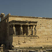 Caryatids Of The Erechtheum Poster