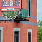 Casa Del Rio In Roma Texas Poster