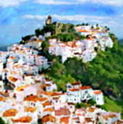 Casares From Laura's View Poster