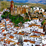 Casares From Signal Hill Poster