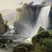 Cascade Dit Autrefois La Cascade De Tivoli Poster