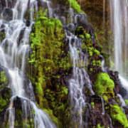 Cascades Of Burney Falls Poster