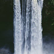 Cascading Waterfall Poster