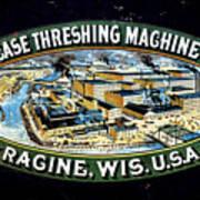 Case Threshing Machine Co Poster