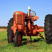 Case Tractor Poster