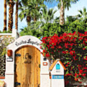 Casitas Laquita Palm Springs Poster