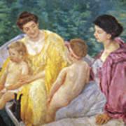 Cassatt: The Swim, 1910 Poster