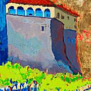 Castello Di Villafranca Poster