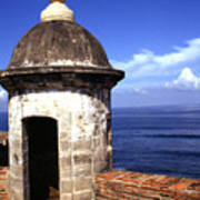 Castillo De San Cristobal Poster