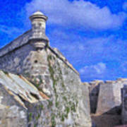 Castillo El Morro Havana Cuba  Poster