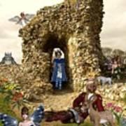 Castle Acre Fairy Land Poster