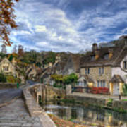 Castle Combe England Poster