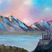 Castle Landscape Poster