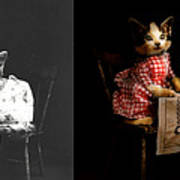 Cat - It's Our Birthday - 1914 - Side By Side Poster