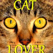 Cat Lover Spca Poster