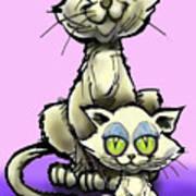Cat N Kitten Poster
