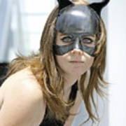 Cat Woman Poster