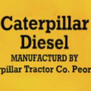 Caterpillar D2 Bulldozer 08 Poster