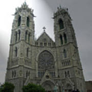 Cathedral Basilica In Newark Nj Poster