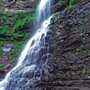 Cathedral Falls In Spring Poster