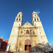 Cathedral In Campeche Poster