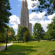 Cathedral Of Learning University Of Pittsburgh Poster