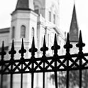 Catheral Basilica - Bw Poster