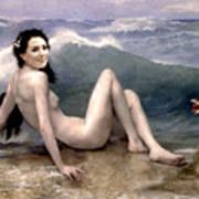 Catherine Duchess Of Cambridge Nude  Poster by Karine Percheron-Daniels