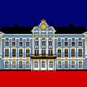 Catherines Palace Inspiration - Katharinenhof Inspiration St Petersburg Russia Poster
