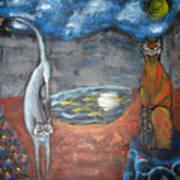 Cat's Dreams Poster
