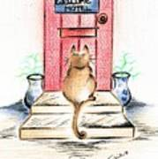 Cat's Welcome Motel Poster