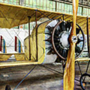 Caudron G3 Propeller And Cockpit - Vintage Poster