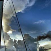 Cayman Nite Sky Poster