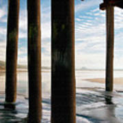 Cayucos Pier Poster by Sharon Foster