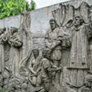 Cebu Carvings Poster