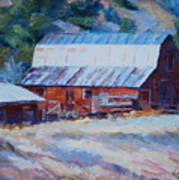 Cedar Hill Barn Poster