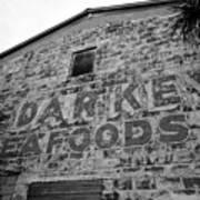 Cedar Key Sea Foods Poster by David Lee Thompson