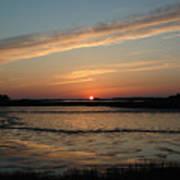 Cedar Key Sunset 1 Poster