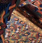 Ceiling Paintings, Abba Pantaleon Monastery Poster