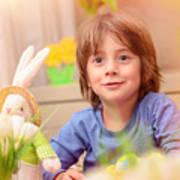 Celebrating Easter Holiday Poster