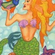 Celeste The Mermaid Poster