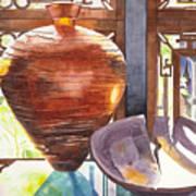 Celestial Hall Pottery I Poster