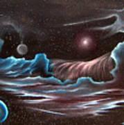 Celestial Wave Poster by David Gazda