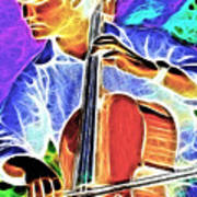 Cello Poster by Stephen Younts
