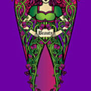 Celtic Forest Fairy - Beauty Poster