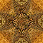 Celtic Mandala Abstract Poster