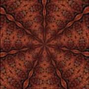Celtic Ribbons Tile K7-2 Bronze Poster